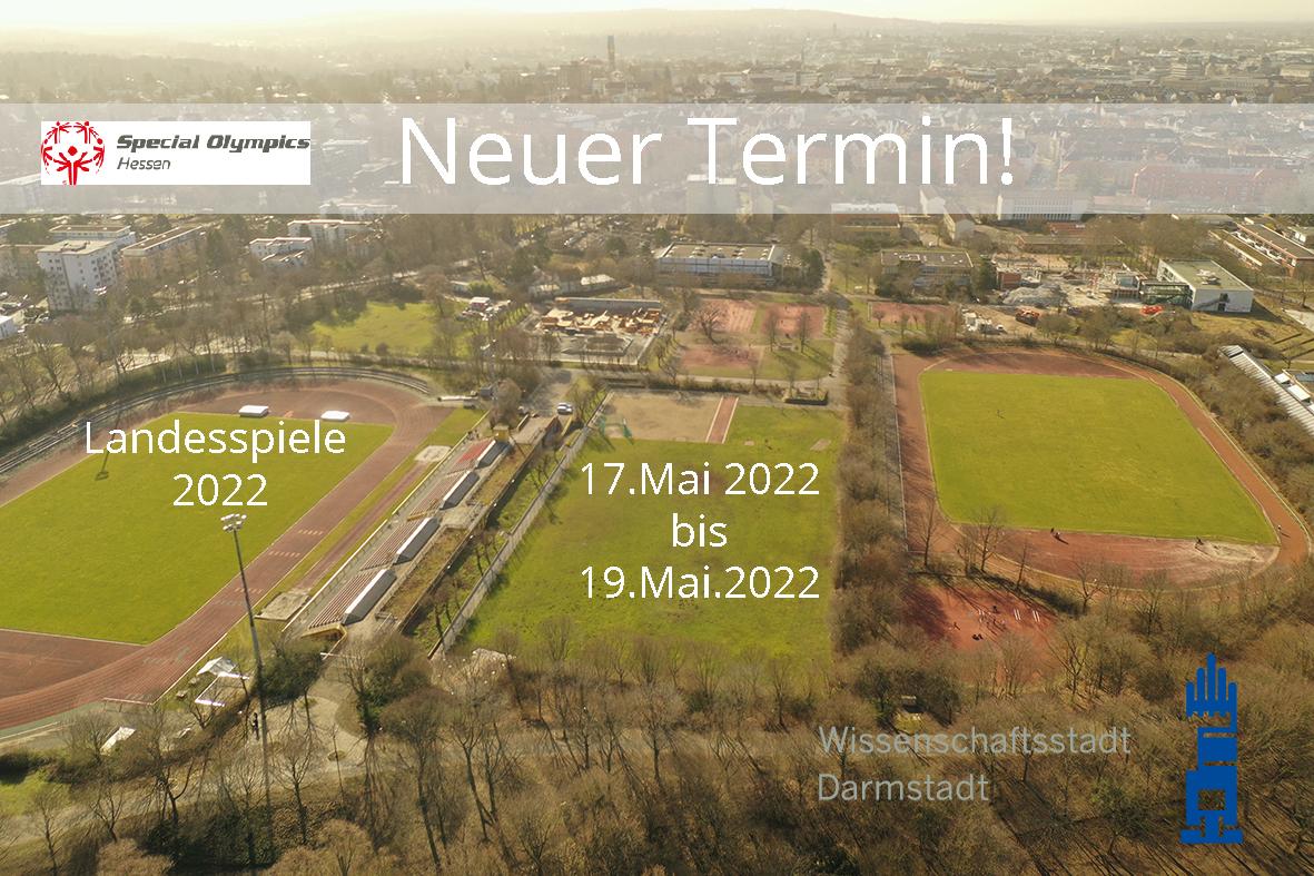Neuer Termin für die Landesspiele von Special Olympics Hessen