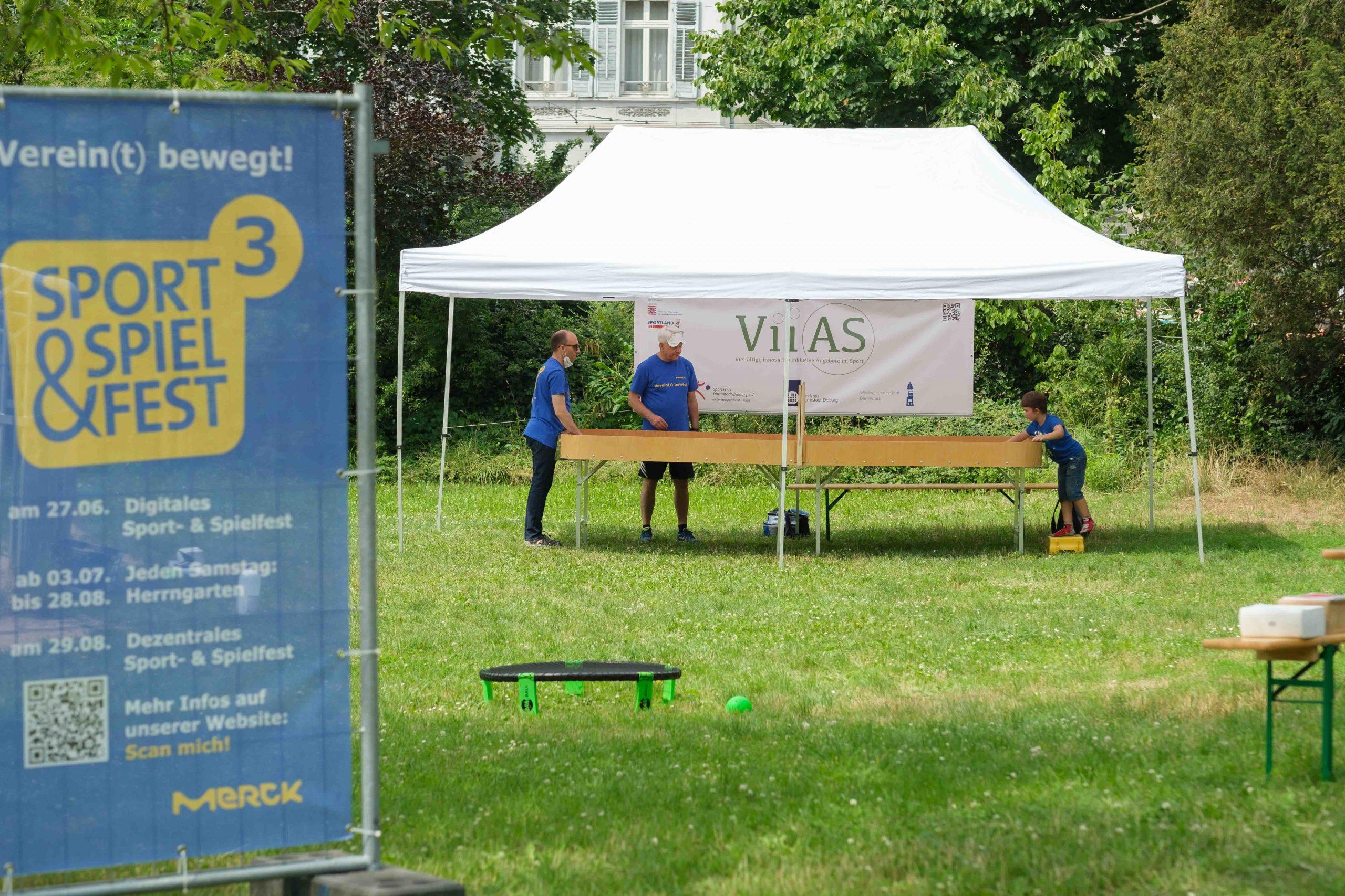 Bildergalerie vom ViiAS-Aktionstag im Herrngarten