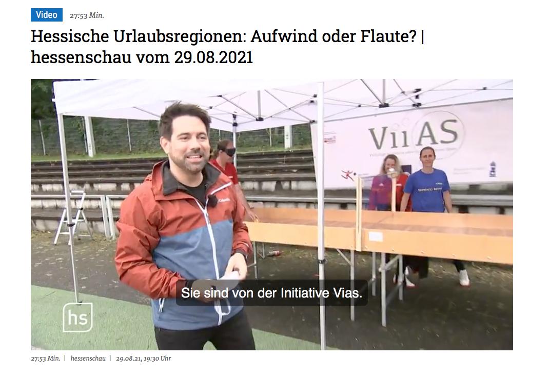 Hessenschau zu Besuch beim Aktionstag von ViiAS